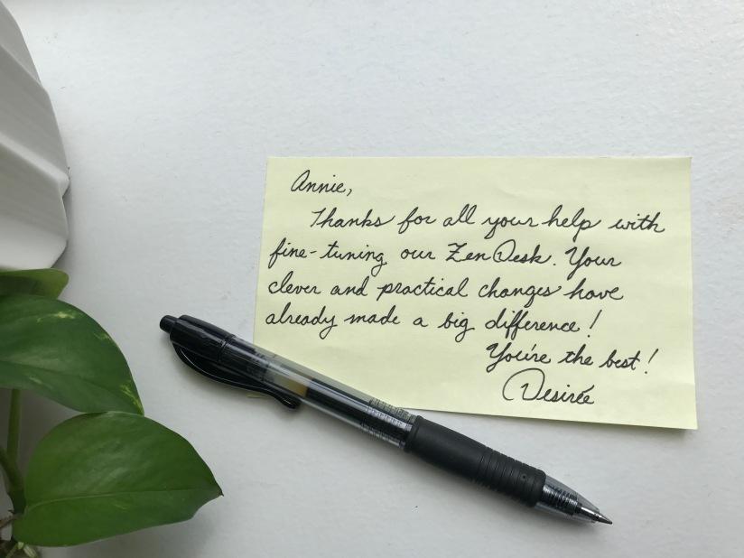 Annie's Note